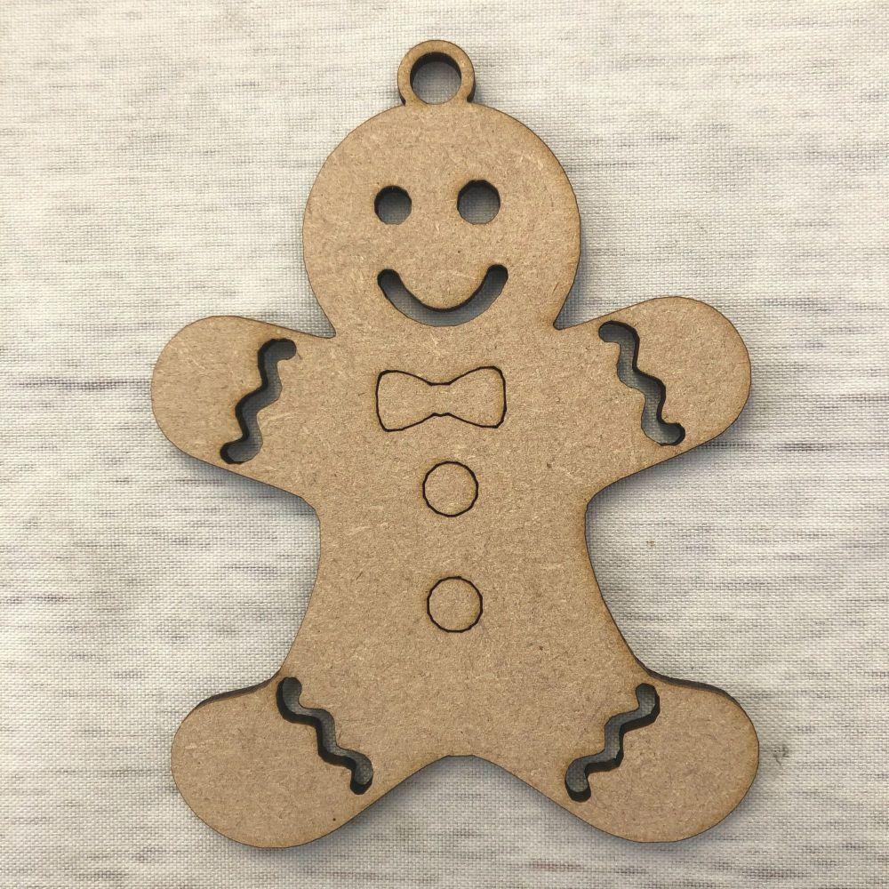 Gingerbread man Bauble