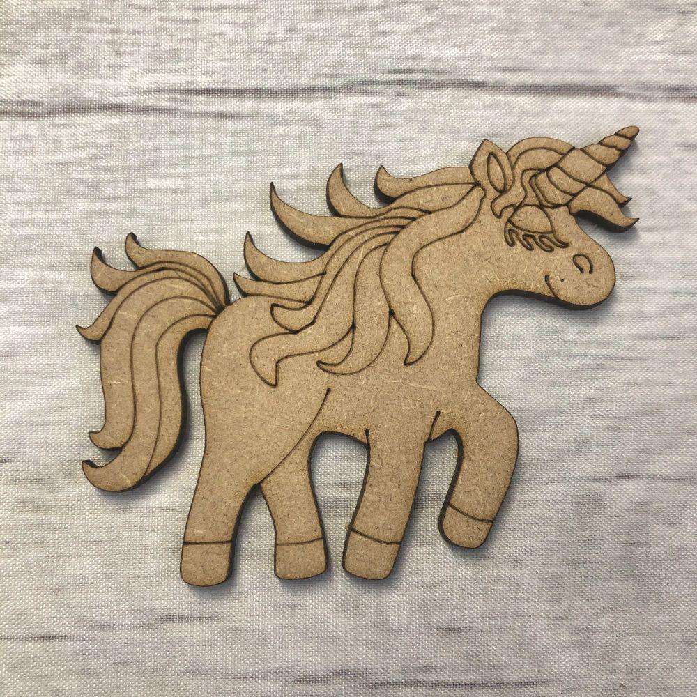 Unicorn 2 - engraved