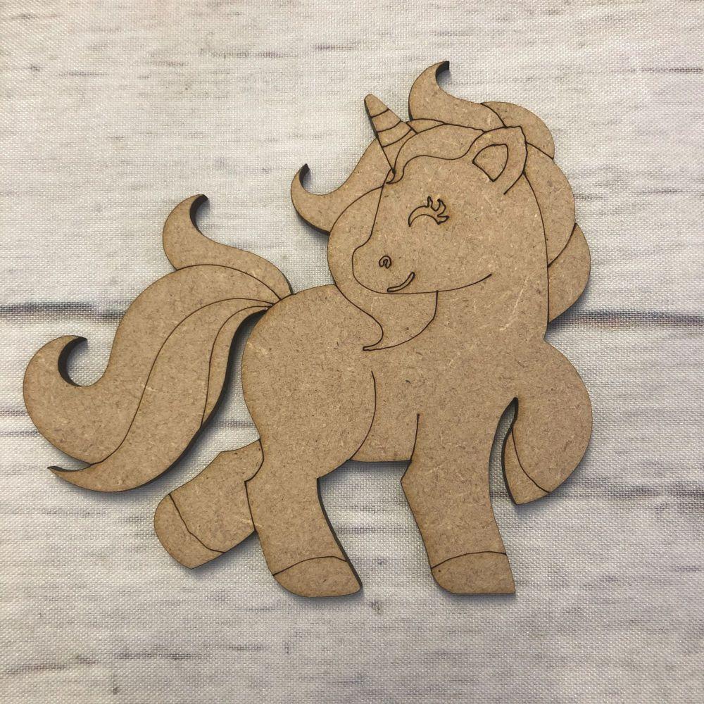 Unicorn 3 - engraved