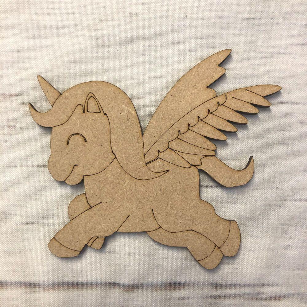Unicorn 4- engraved