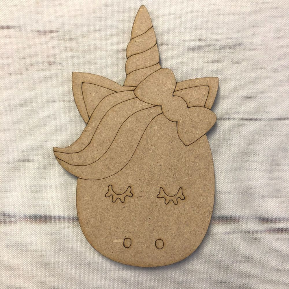 Unicorn 5- engraved