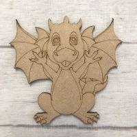 Dragon 4 - engraved