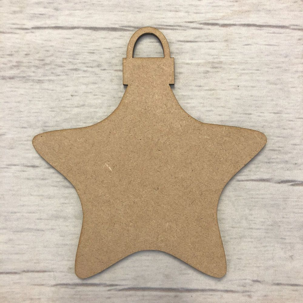 Bauble 4 (Rounded Star)