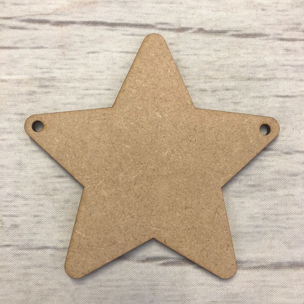 Bunting - Rounded Star
