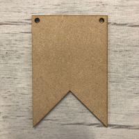 Bunting - Double Pointed