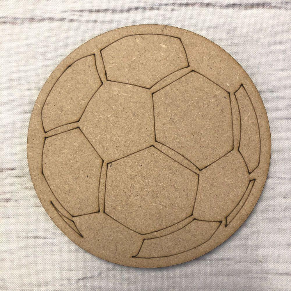 Football -  engraved