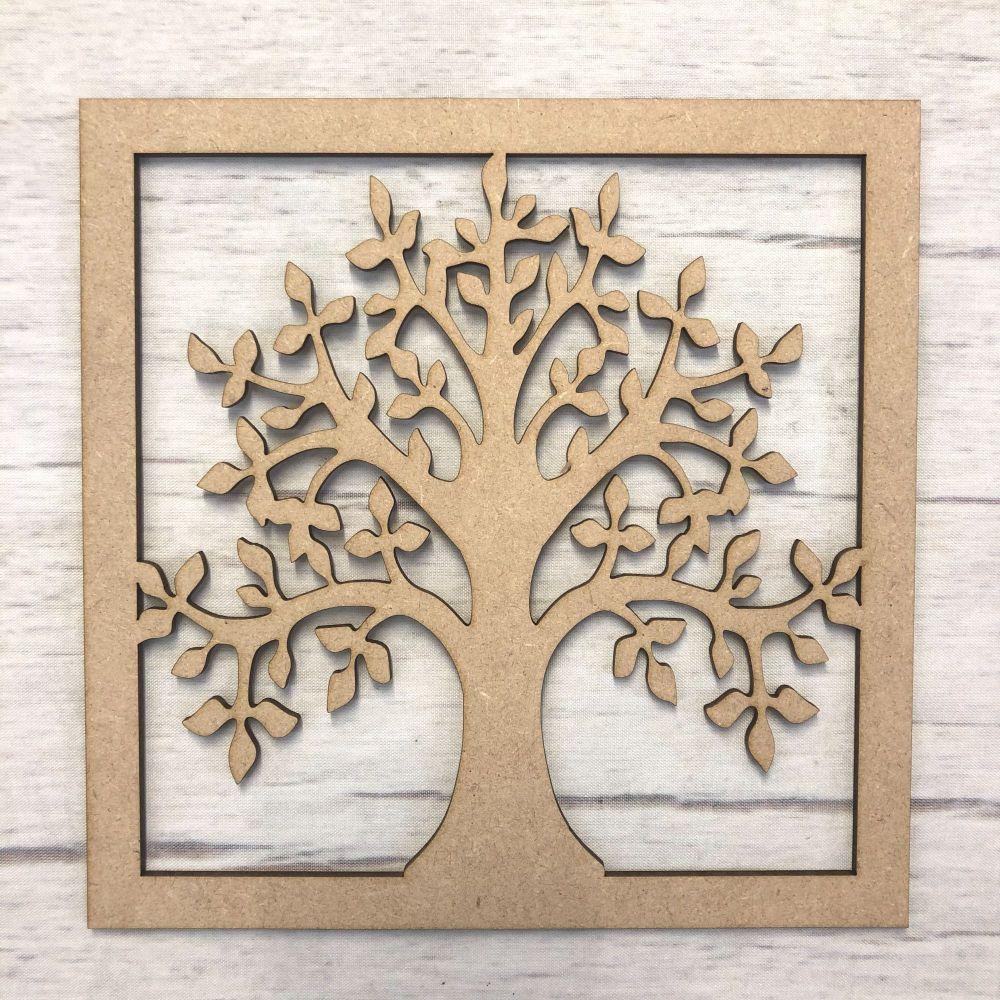 Decorative Family Tree 2 (framed)
