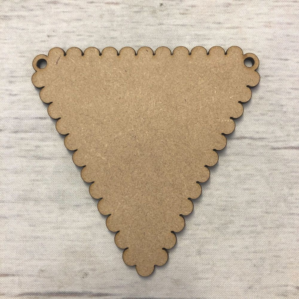 Bunting - Scalloped Triangle