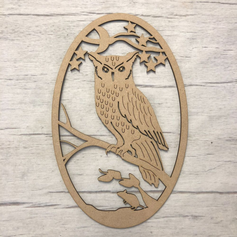 Box topper - keepsake memory box - Owl