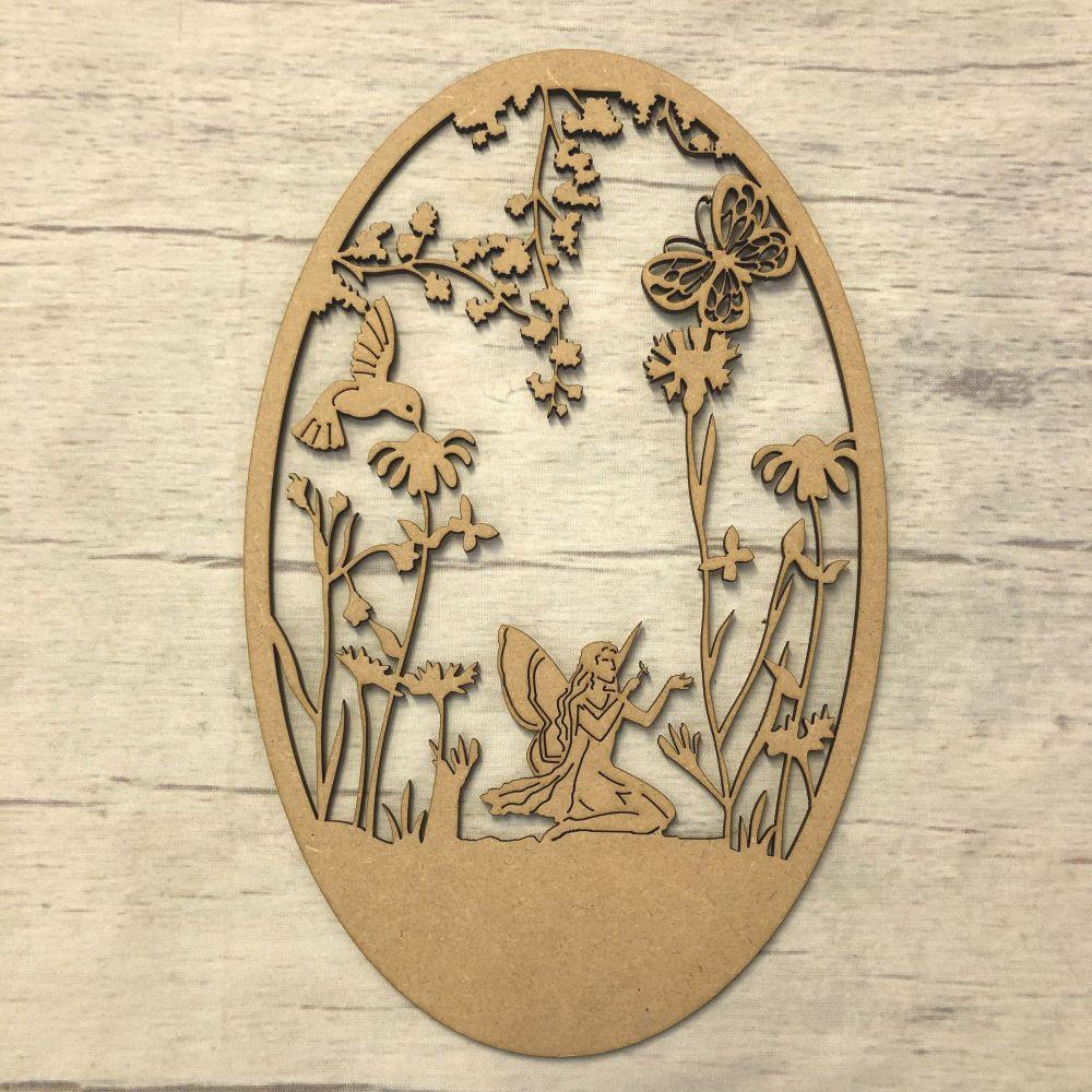 Box topper - keepsake memory box - fairy garden plaque