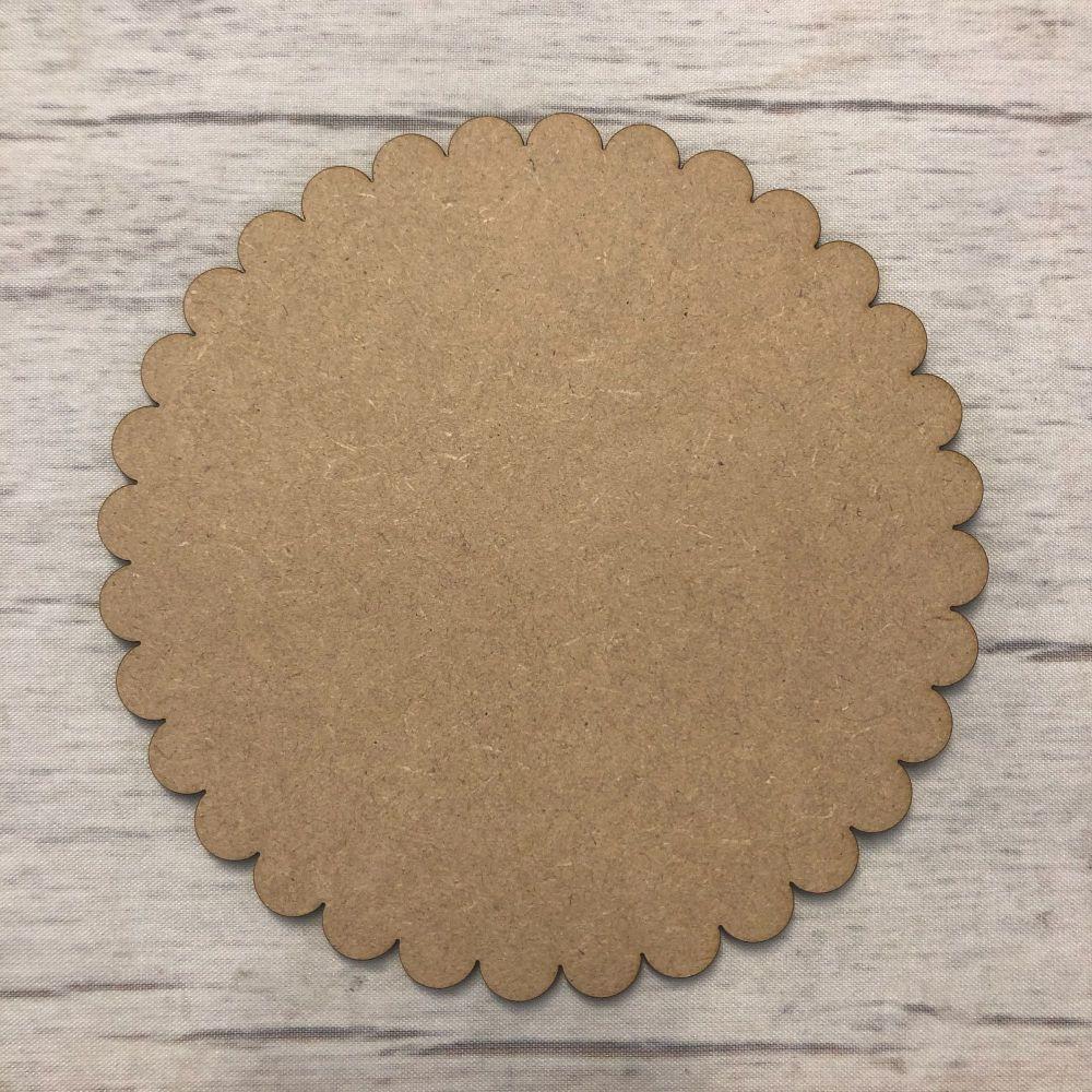 Pastry Cut Circle