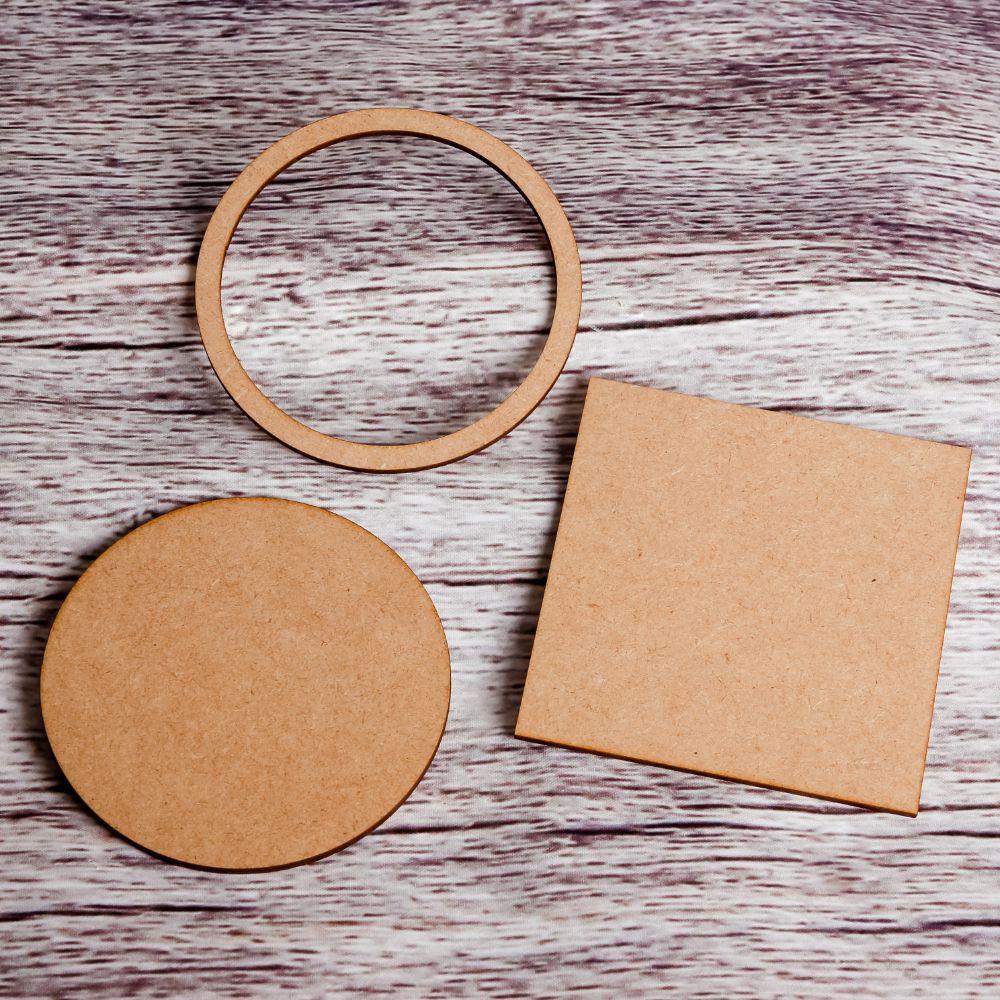 Circles, Rings & Squares