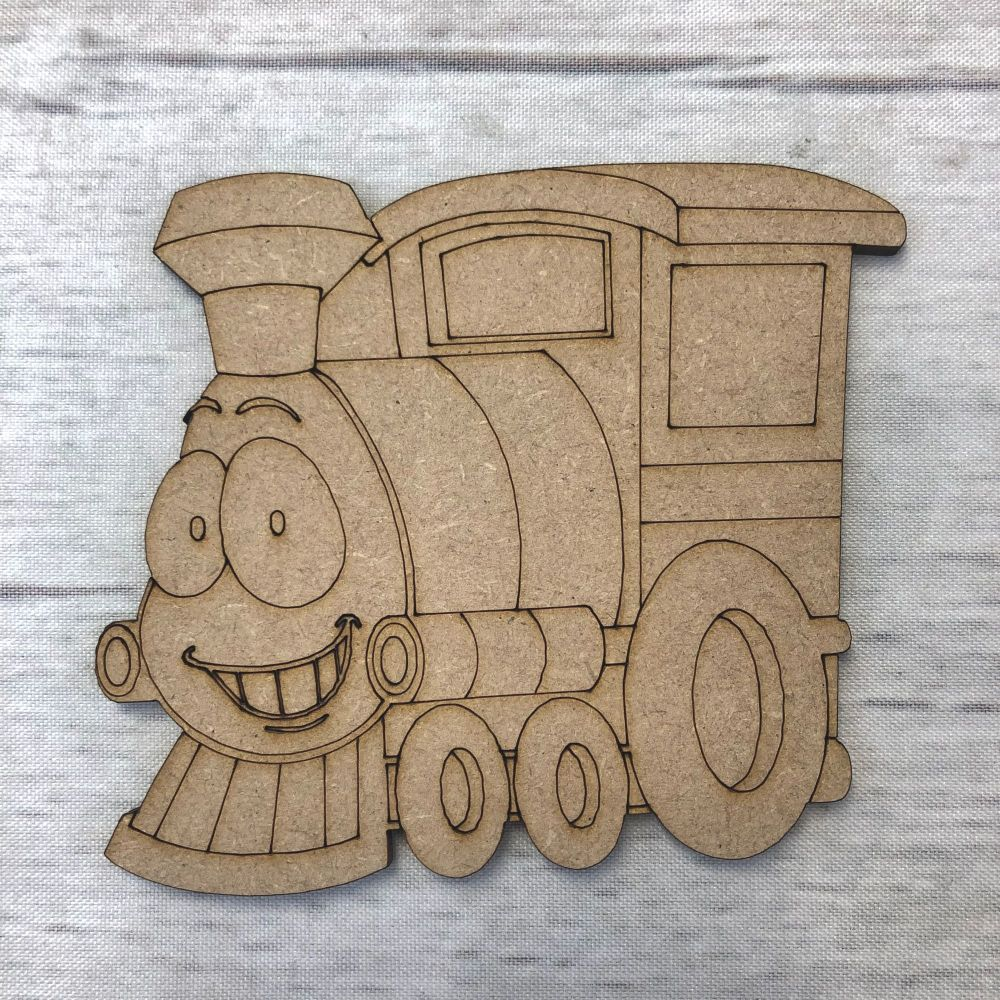 Train 1 - engraved