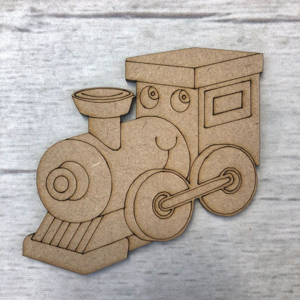 Train 2 - engraved