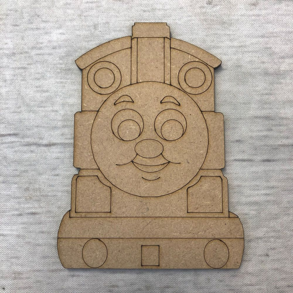 Train 3 - engraved
