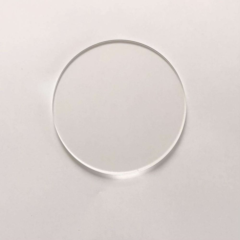 Clear Acrylic Circle