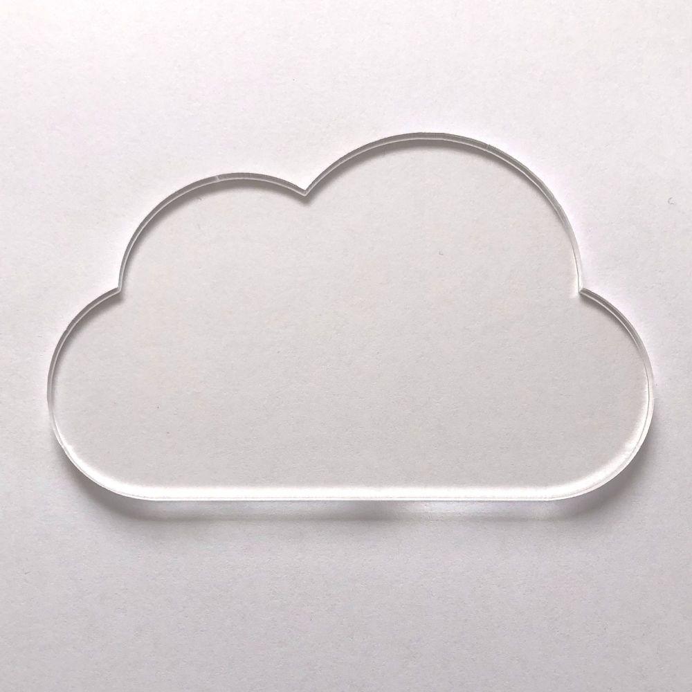 Clear Acrylic Cloud