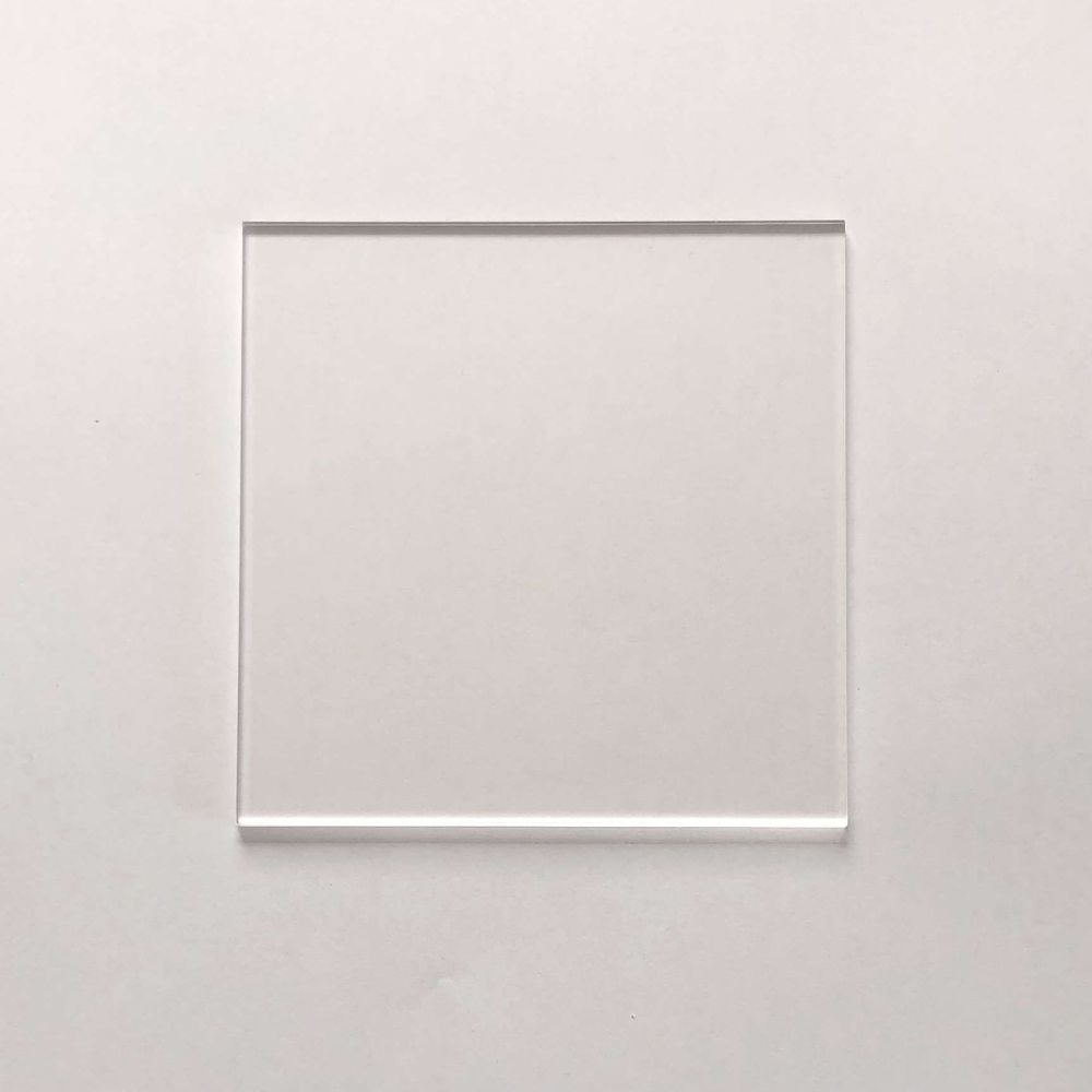 Clear Acrylic Square