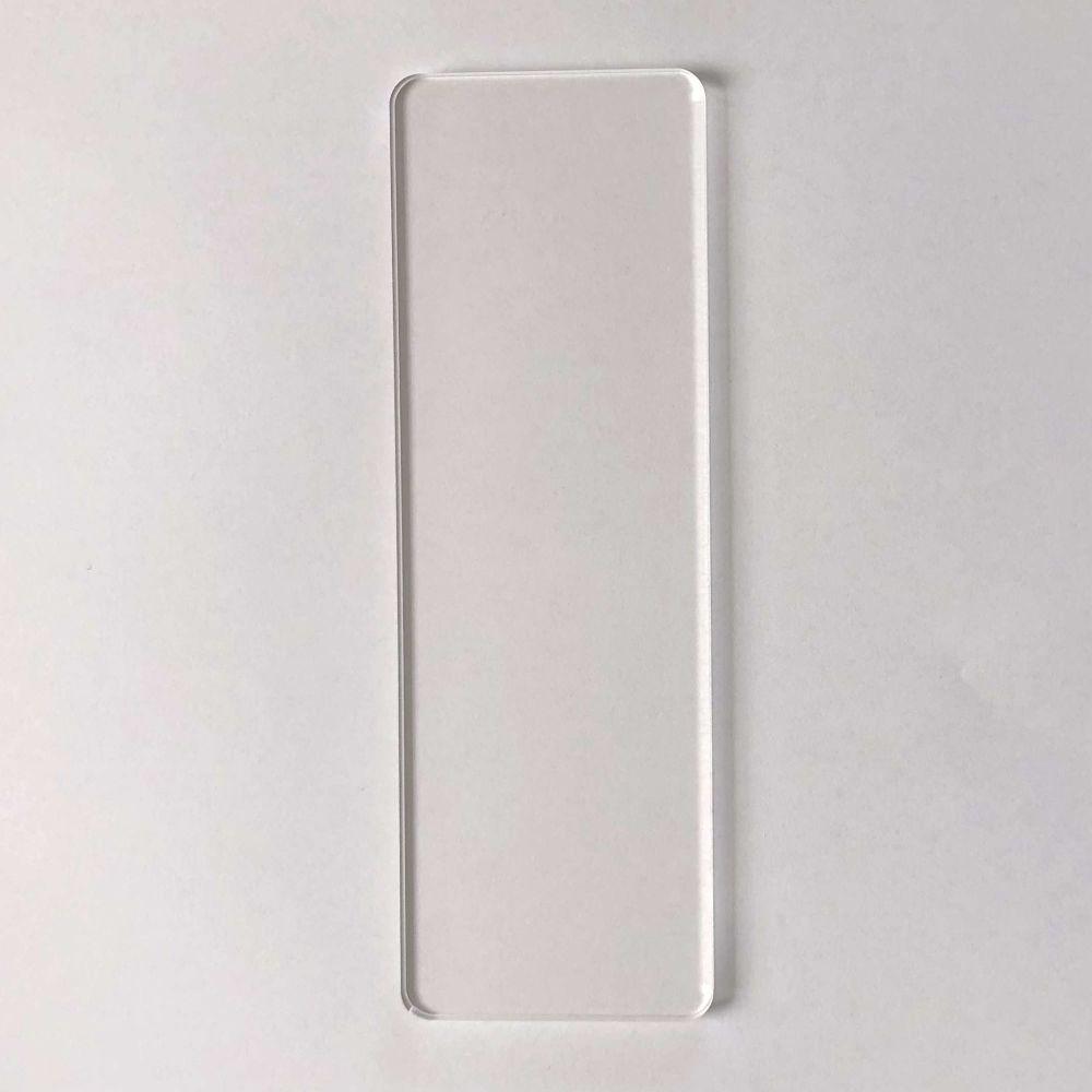 Clear Acrylic Bookmark