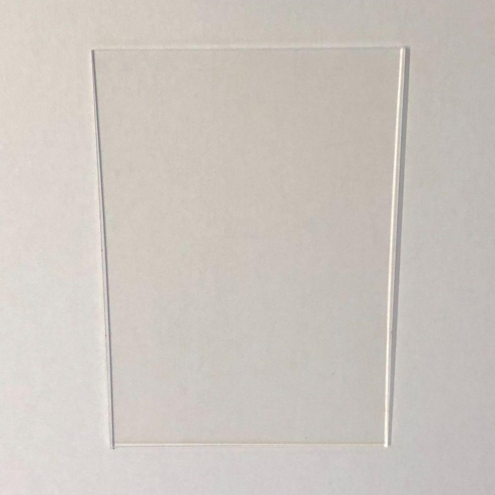 Clear Acrylic A4 Plaque
