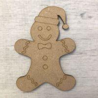 Gingerbread Man - engraved