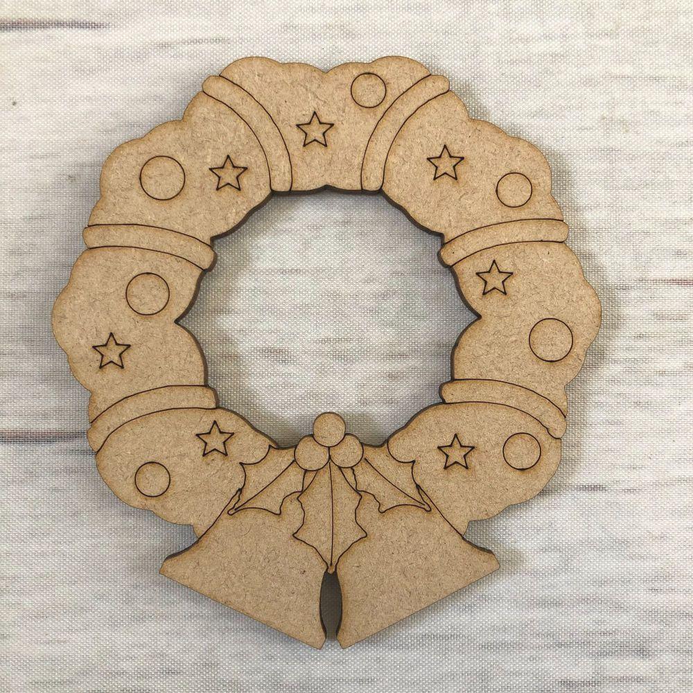 Wreath - engraved
