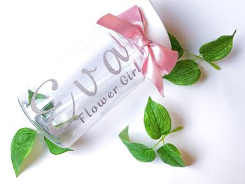 Personalised mini water bottles
