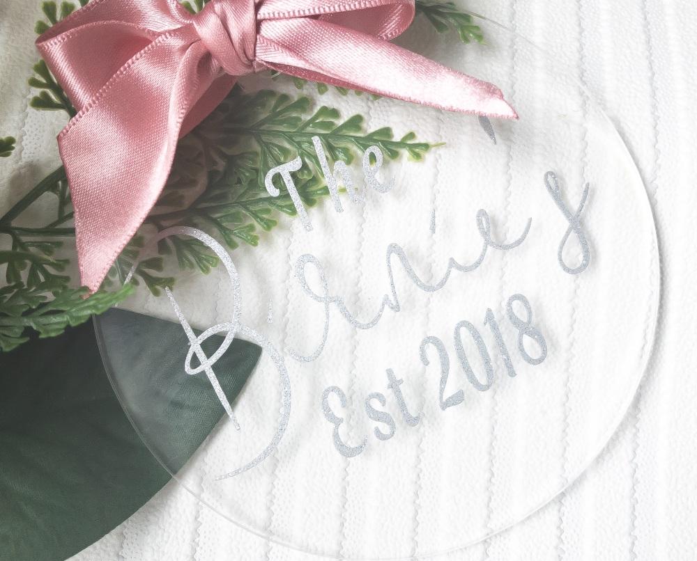 Acrylic Christmas Baubles
