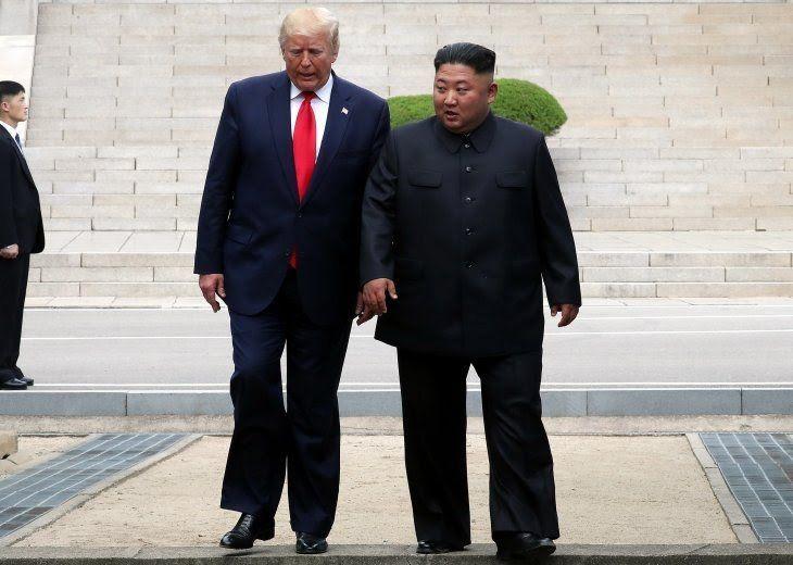 Trump and Chairman Kim