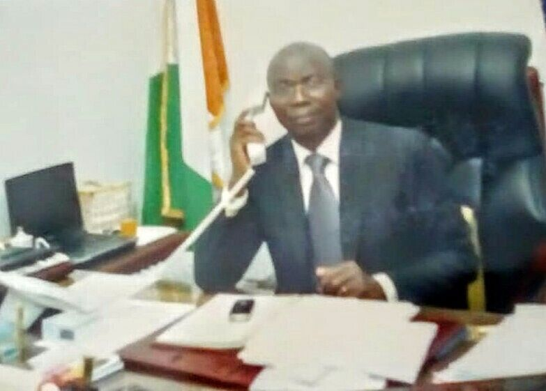 His Excellency Ambassador  Eugene Allou Allou
