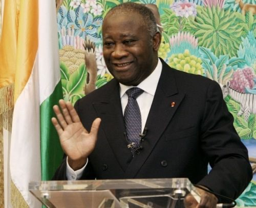 Laurent Gbagbo still standing tall.