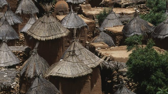 Dogon village./ Getty images