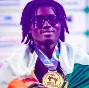 Ivory Coast champion Ruth Gbagbi.