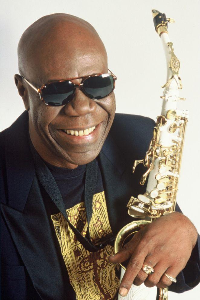 Saxophonist Manu Dibango