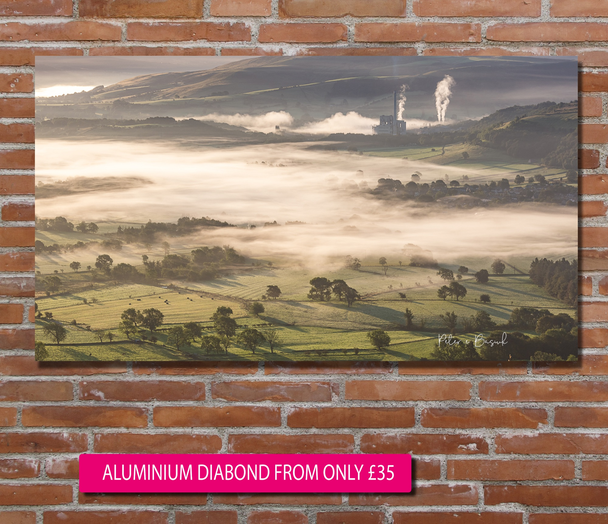 Hope Valley Cloud Inversion in the High Peak - Print from only £9.99