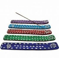 Incense Stick Ash Catchers  ~  Glitter  Design - Various colours available