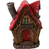 ACCESSORIES - Lisa Parker Incense Burner House design Cone Burner - The Willows (  Red coloured roof)