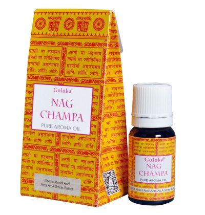 Nag Champa Oil from Goloka - Alcohol - free Natural & Pure