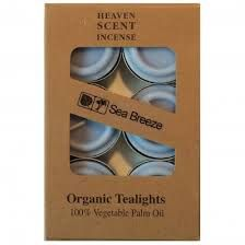 Organic T-Lights ~ Sea Breeze