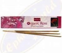 Nandita Organic ~ Rose Incense Sticks