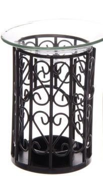 Wax-Oil ~ Metal frame glass topped Burner ~ 2 designs