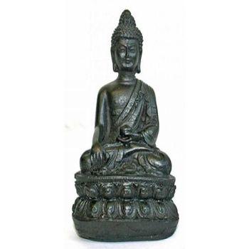 GIFTS ~ Small Black Buddha Statue
