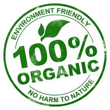 100% Organic logo