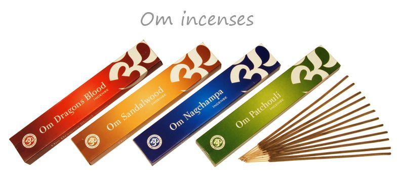 om range of incense