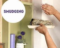 smudging a cupboard