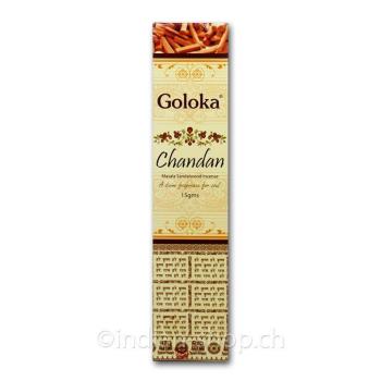 Goloka ~ Chandan (Sandalwood) Incense - Sticks