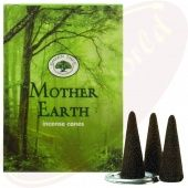 Green Tree - Mother Earth Incense – CONES