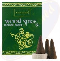 Nandita - Wood Spice Incense – CONES