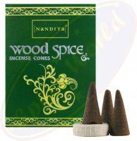 Nandita - Wood Spice Incense – CONES