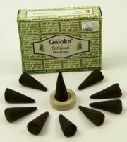 Goloka ~ Patchouli Incense – CONES